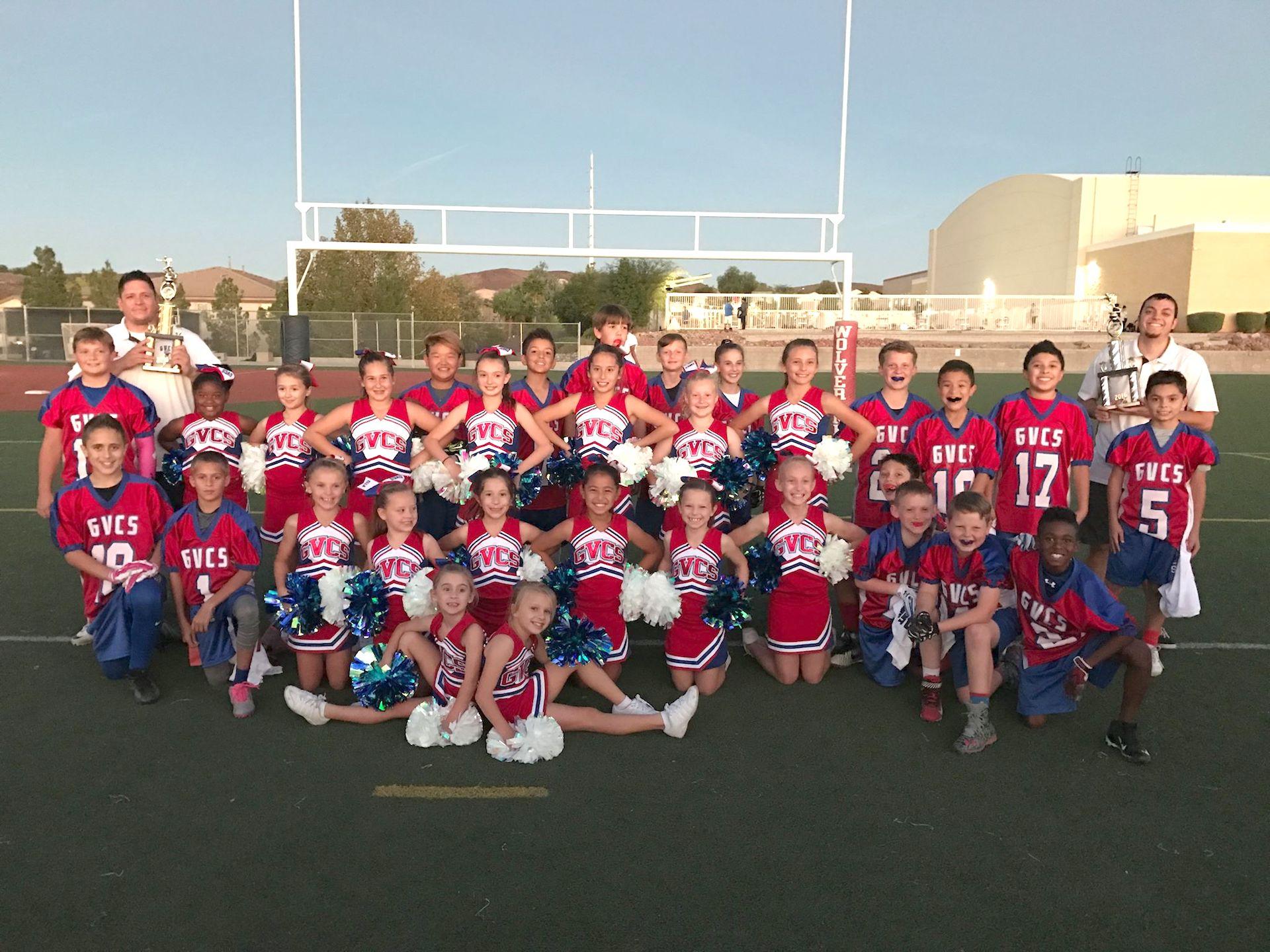 Football and Cheer