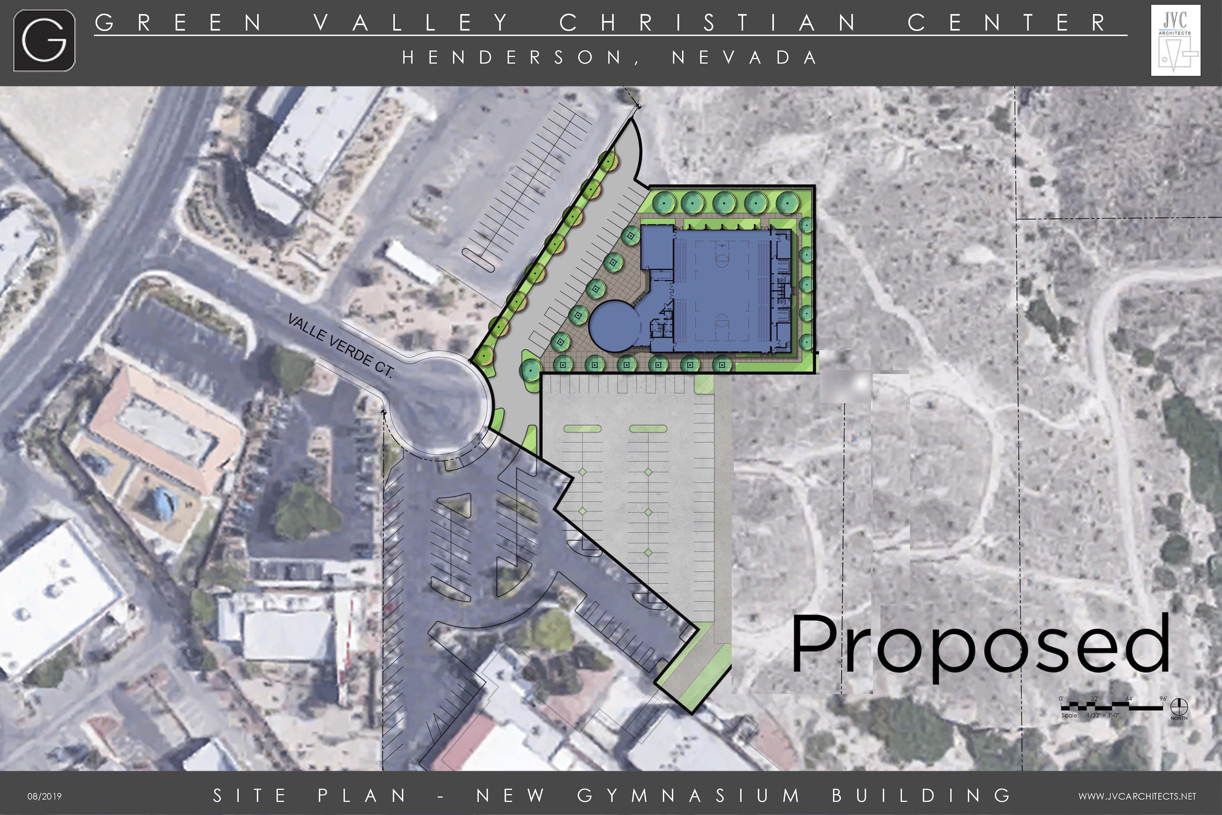 GVCS Gym Proposed Location