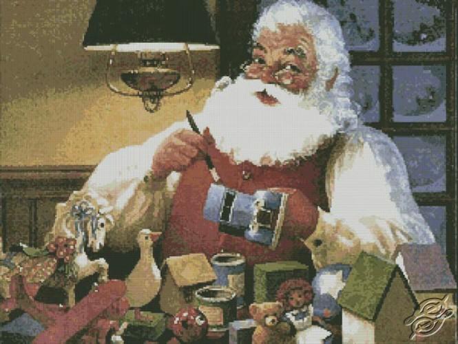 FREE PATTERNS Christmas Amp New Year Santa Painting Toys