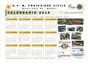 Calendario GVM 2015