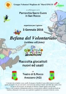 Locandina Befana 2016 (Avezzano)