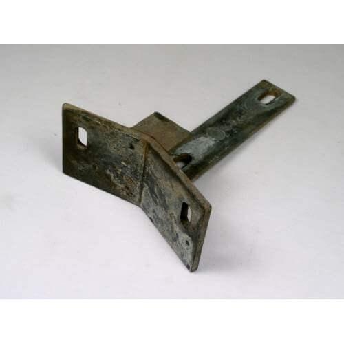 aluminium gutter stool ac for bolt mounting 2 x m8 bolts