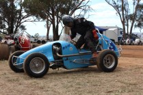 Viewing the vehicles in the Pit Area at lunchtime Highlights from Shannon's Classic Vintage Speedway event Illabo Motorsport Park -- March 10, 2019 Photo by Tristan Levy Photography