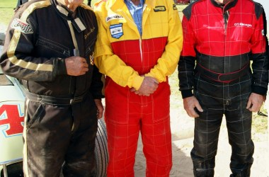 Gordon Benny, Bob Pymble & Peter Bowland Vintage Speedcar Tribute Meeting