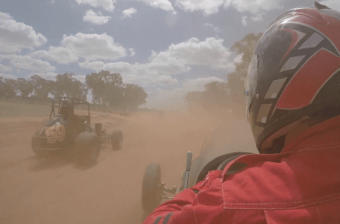 Onboard footage of Vintage Speedcar at Illabo Motorsport Park