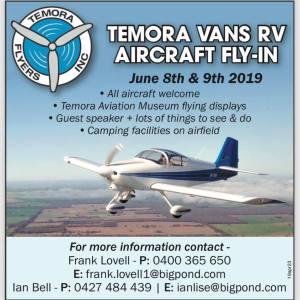 Temora Vans RV Aircraft Fly-in Ad