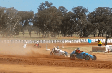 Vintage Speedcars at Illabo Motorsport Park