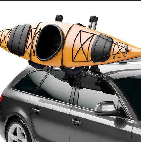 thule hullavator pro lift assist kayak carrier for g class 2008