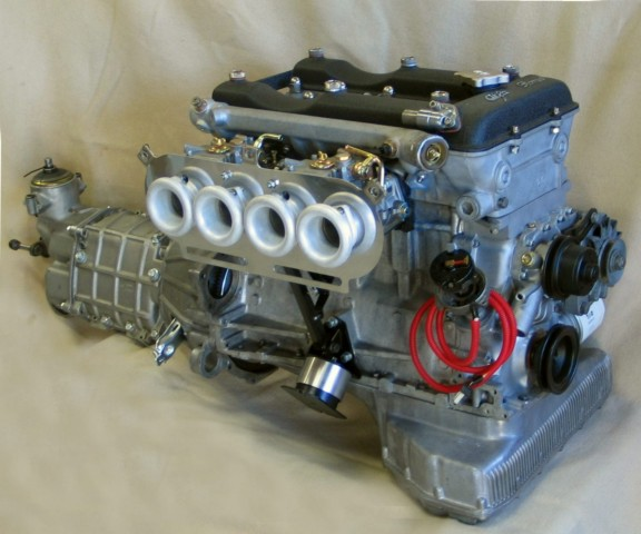 engine carb side c72