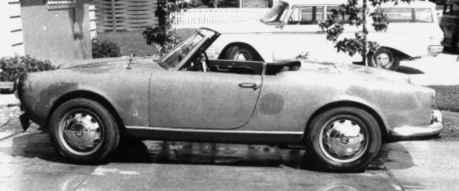 giulietta spider side