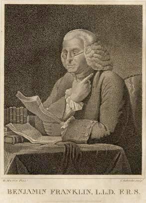 Ben Franklin 1856 book illustration 72