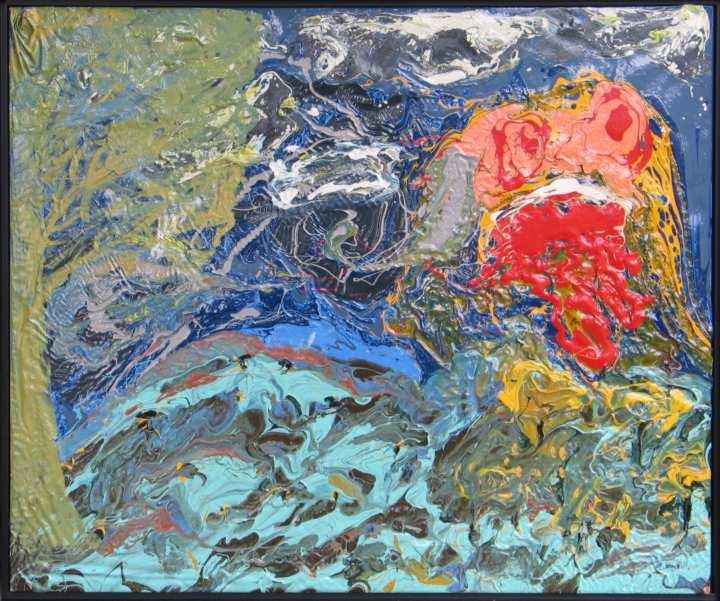 Carlton H Schurdeleau painting