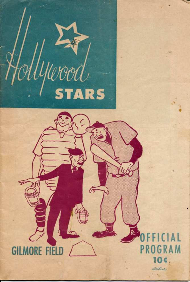 Hollywood Stars 1956 program b