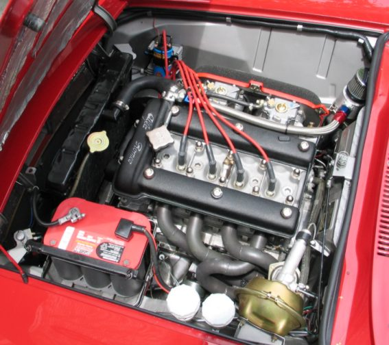 Alfa engine 052805 header side
