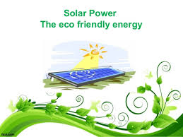 solar eco friendly