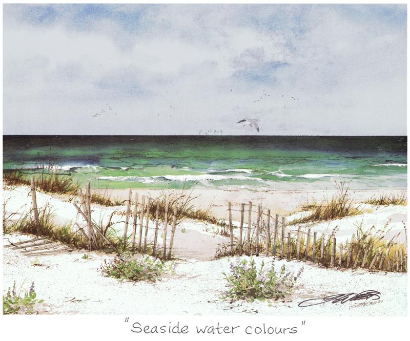 Seaside Watercolours