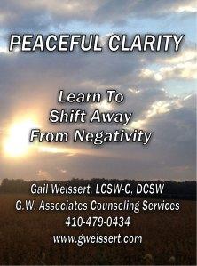 peaceful clarity