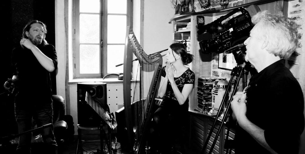 """Reportage photo à Kersody (Plourin les morlaix) lors de l'enregistrement de l'album """"La déclaration"""" du duo Soñj 4-5-6 avril 2016"""