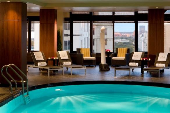 Peninsula Hotel NY Pool