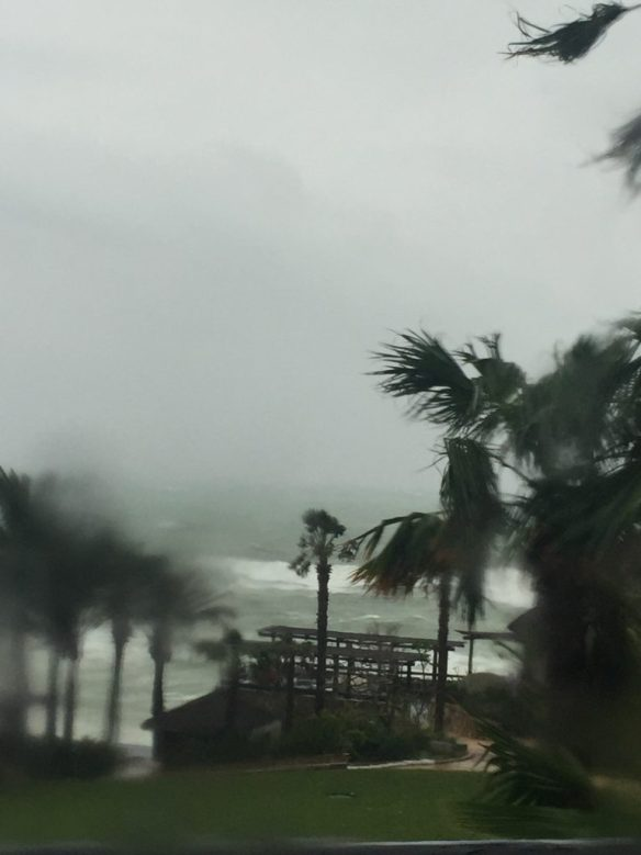 Hurricane Newton Esperanza Resort Cabo