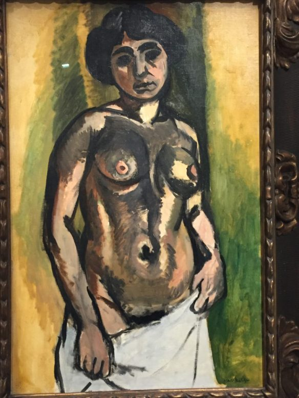 Henri Matisse - Nude. Black and Gold