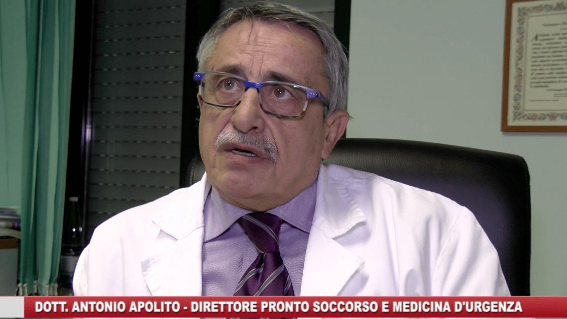Pronto soccorso, dott. Apolito: «Nuove direttive senza novità» - Gwendalina.tv