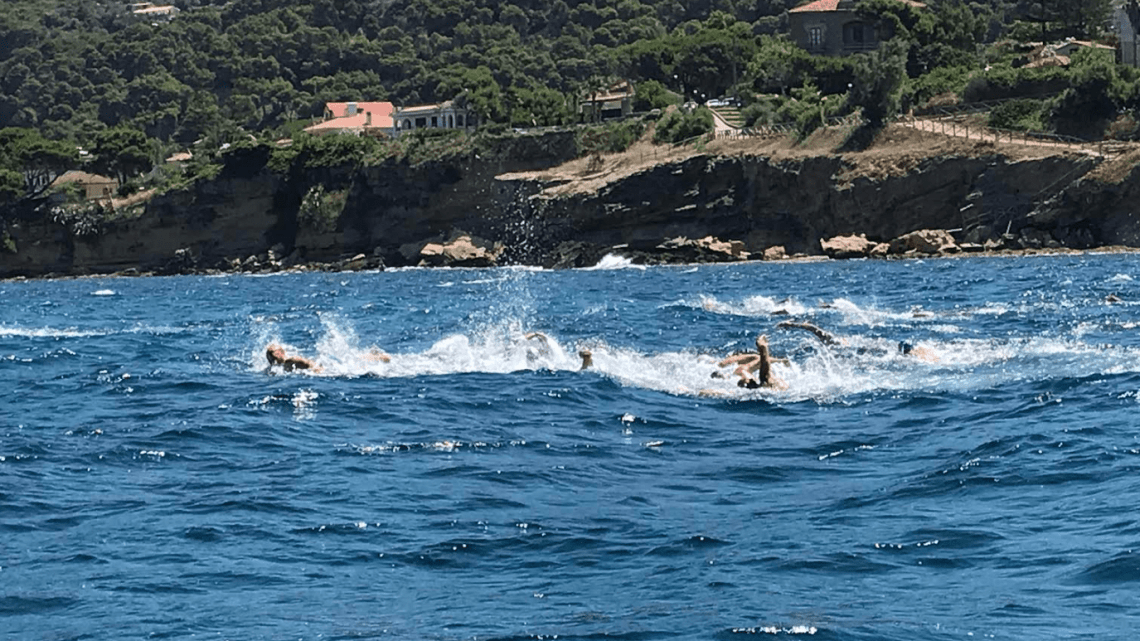 Sport, finesettimana di nuoto in acque libere a Castellabate - Gwendalina.tv