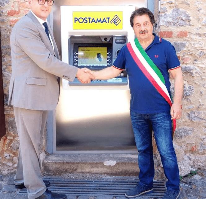Tortorella, installato il primo sportello ATM postamat - Gwendalina.tv