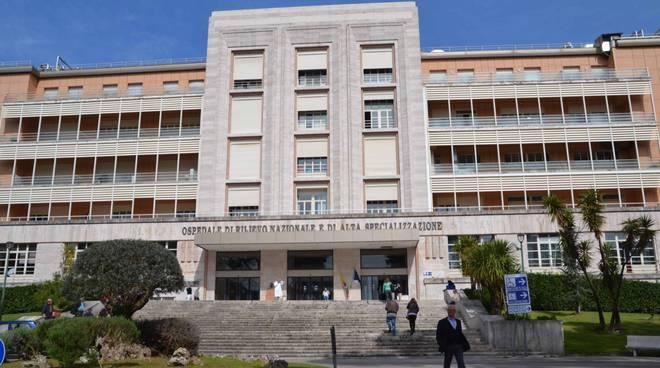 Ospedale Cotugno di Napoli - Centro specializzato per la cura del coronavirus in Campania