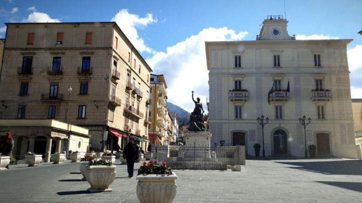 Piazza Vittorio Emanuele II - Vallo della Lucania