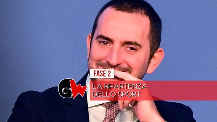 """Sport, Spadafora: """"Dal 18 maggio le prime aperture"""" - Gwendalina.tv"""