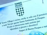 Uova di Pasqua a domicilio per gli allievi, il bel gesto del Tennis Village di Agropoli - Gwendalina.tv