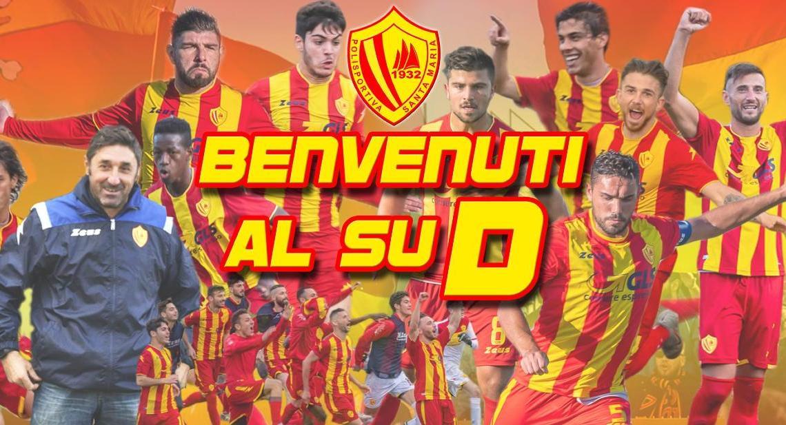 Il Santa Maria promosso in Serie D - Gwendalina.tv