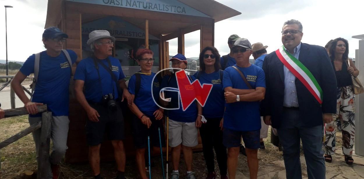 Agropoli, inaugurati nuovi sentieri dell'area naturalistica di Trentova-Tresino - Gwendalina.tv