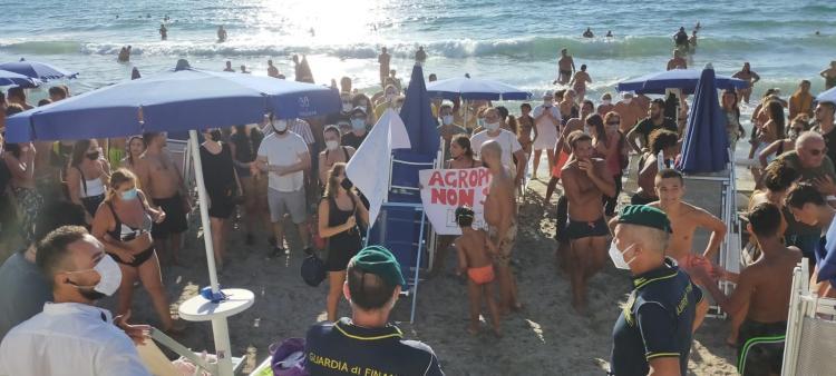 Bagno di folla per Salvini ad Agropoli - Gwendalina.tv
