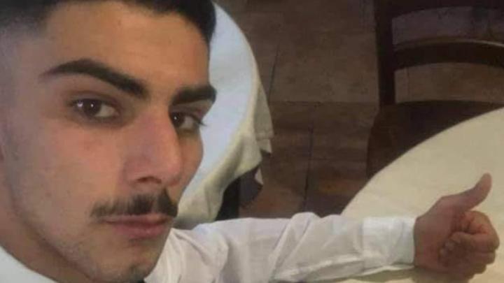 Mario Monaco di Buonabitacolo, 23enne morto nell'incidente del 2 agosto a Sala Consilina.
