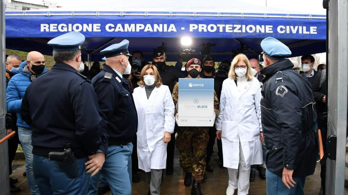 Covid, la stampa internazionale elogia la Campania - Gwendalina.tv