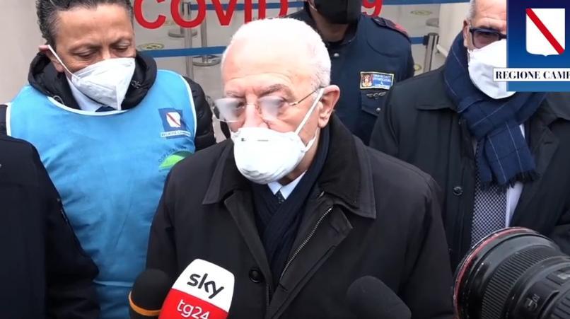 Crisi di Governo, De Luca esulta per l'arrivo di Draghi - Gwendalina.tv