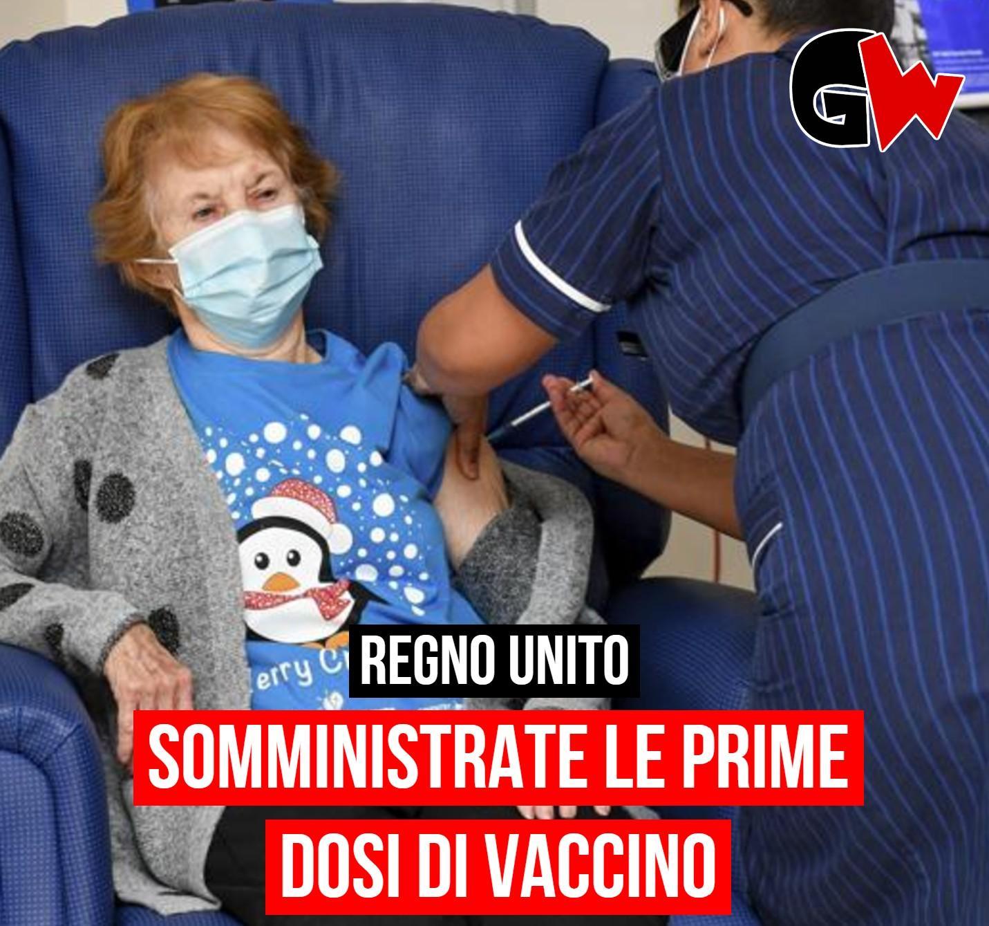 Covid, vaccino somministrato nel Regno Unito - Gwendalina.tv