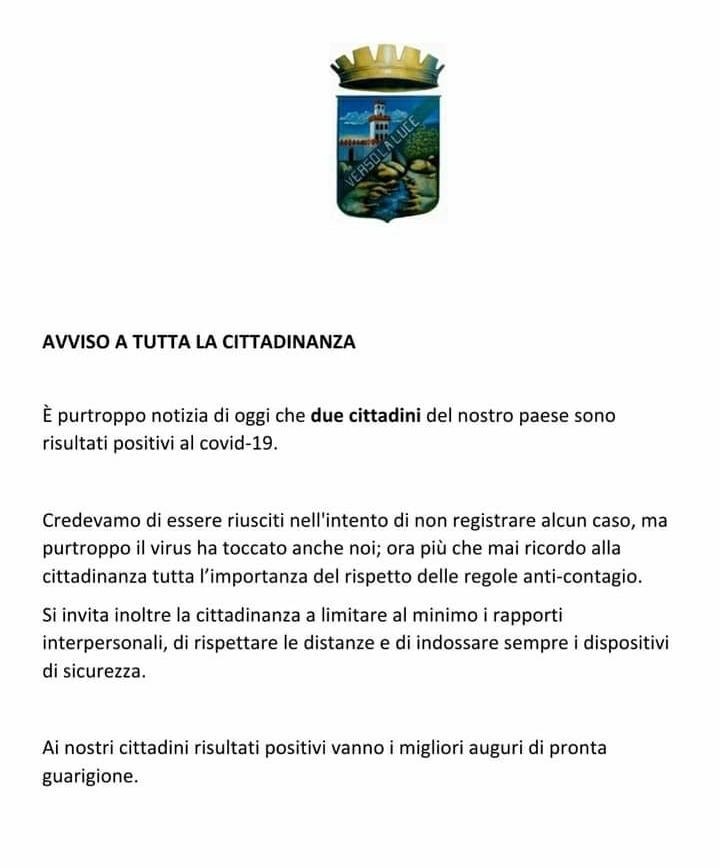 Cannalonga colpita dal Covid: due contagi - Gwendalina.tv