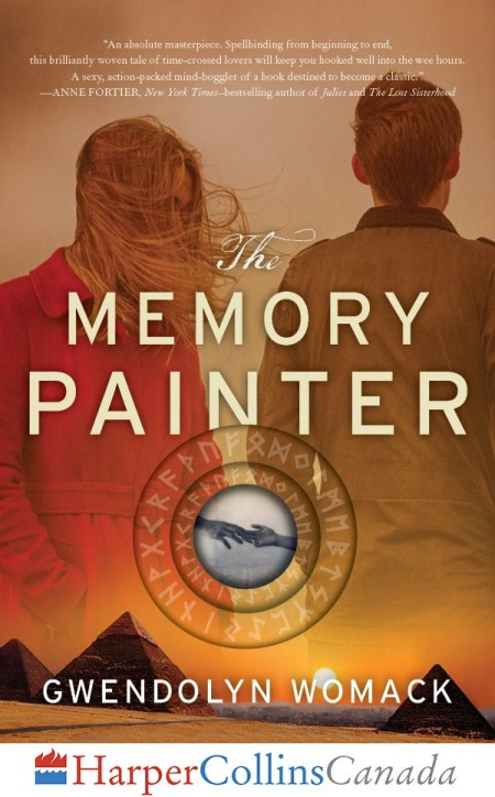 The Memory Painter | by Gwendolyn Womack (Canadian Cover)