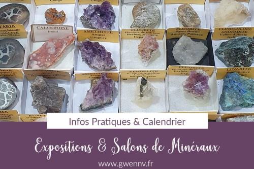 Read more about the article Salons de Minéraux : le rendez-vous des passionnés