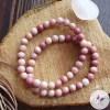 Bracelet Stretch en Rhodochrosite