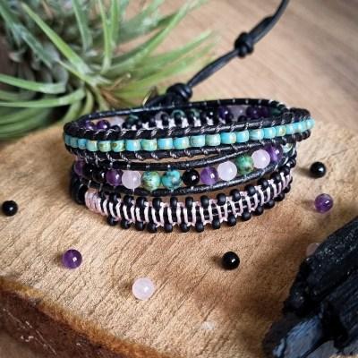 Sur Mesure – Bracelet Wrap multicolore