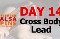 Day 14 – Cross Body Lead – Gwepa Salsa Spins
