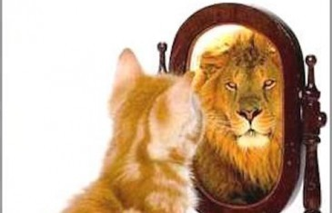 Watch yourself in a mirror