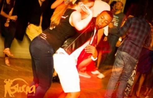 The show off salsa dancer