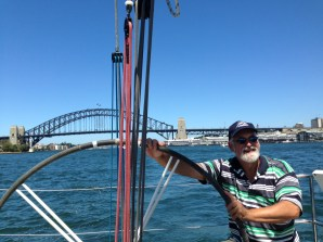 Elan 340 G-whizz Sydney Harbour Bridge