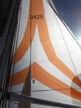 Elan 340 G-whizz Sail Port Stephens Spinnaker Sun Filter
