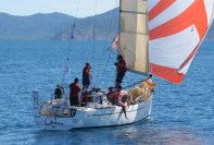 Elan 340 G-whizz Hamilton Island Race week Still drifting 2007